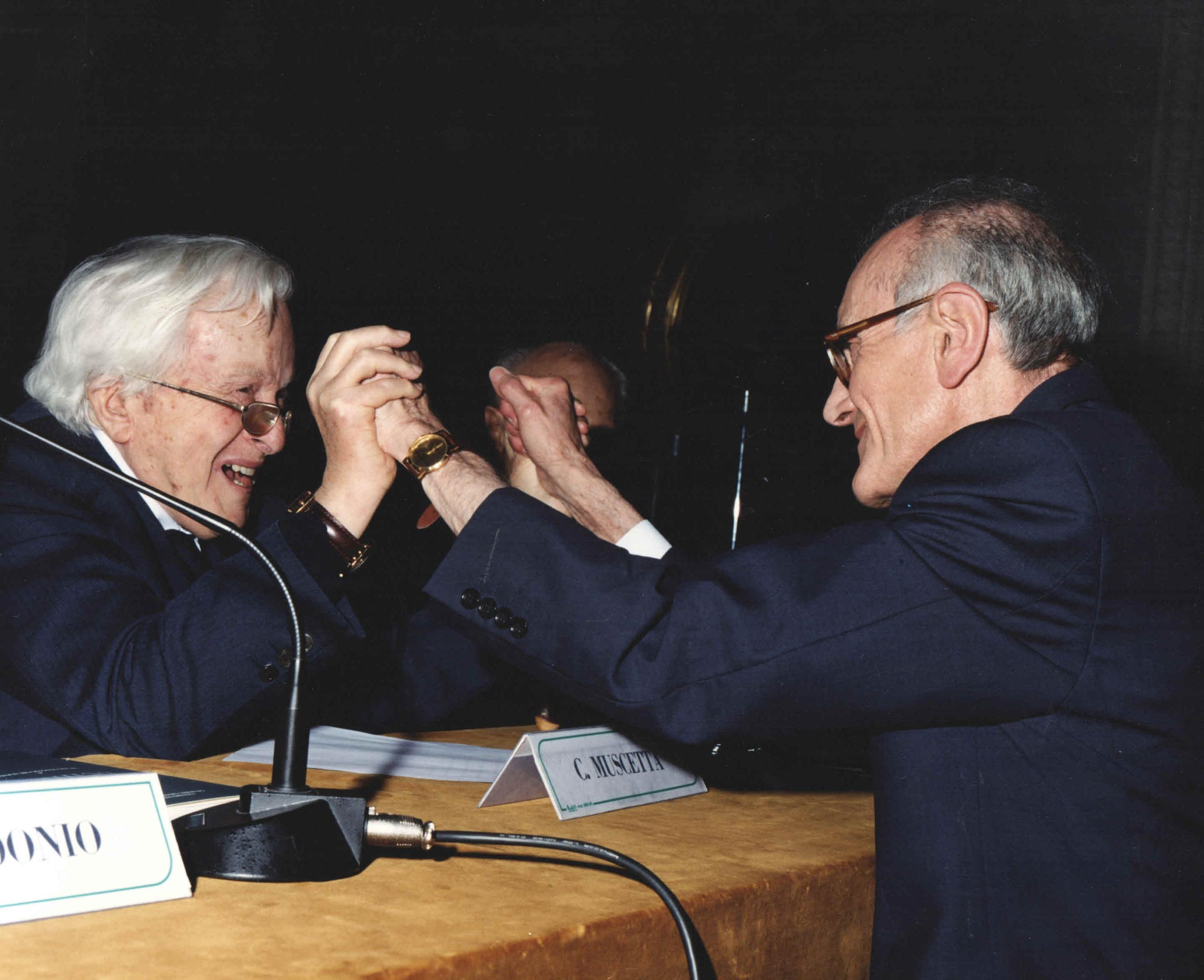 C. Muscetta e M. Mazzocchi Alemanni